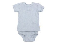 Joha body t-shirt blue melange cotton
