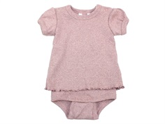 Joha body t-shirt pink melange cotton