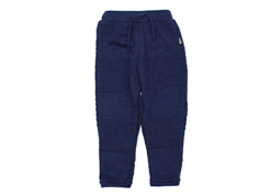 Joha trousers navy melange wool