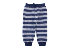 Joha pants stripe navy/gray wool