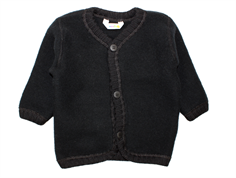 Joha cardigan black wool