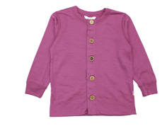 Joha cardigan plum wool