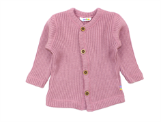 Joha cardigan old rose wool
