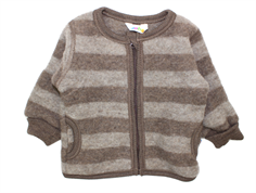 Joha cardigan stripe wool