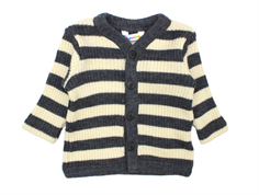 Joha cardigan stripe gray/off-white