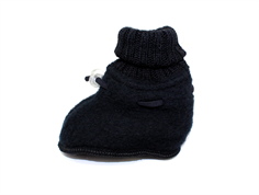 Joha sleeping booties black wool