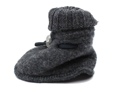 Joha sleeping booties coke melange wool