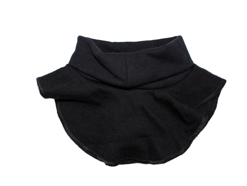 Joha neck these black wool/cotton