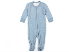 Joha jumpsuit denim blue wool/bamboo