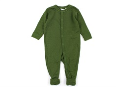 Joha nightsuit bottle green wool