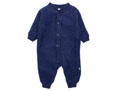 Joha jumpsuit dark blue melange wool