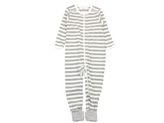 Joha jumpsuit gray stripe cotton