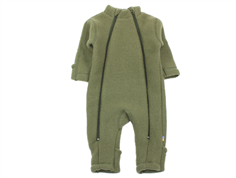 Joha jumpsuit olive green wool