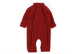 Joha jumpsuit red wool