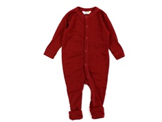 Joha nightsuit red wool