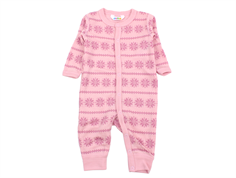 Joha jumpsuit rose snowflake wool