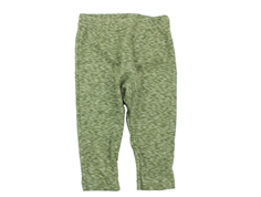 Joha leggings green melange cotton