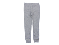 Joha leggings light gray melange wool