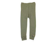 Joha leggings olive green wool