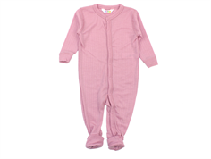 Joha nightsuit old rose wool
