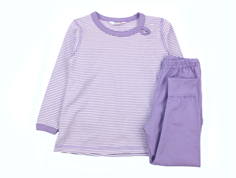 Joha pajamas purple stripe cotton