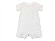Joha romper natural melange cotton