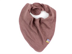 Joha baby scarf old rose wool/silk (2-Pack)