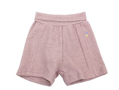Joha shorts pink melange cotton