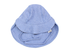 Joha sun hat denim melange cotton