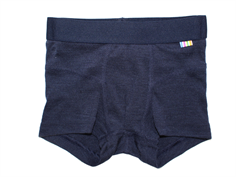 Joha boxers navy wool/silk