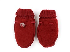 Joha mittens red wool