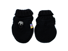 Joha mittens black wool