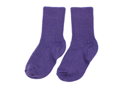 Joha socks wool purple