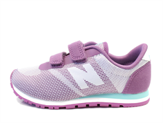 New Balance sneaker purple with velcro