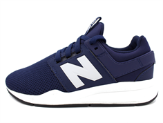 New Balance sneaker navy/white with laces