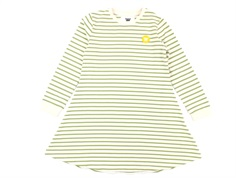 Wood Wood dress Aya off white/olive stripes