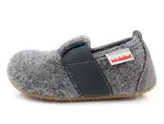 Living Kitzbühel slippers gray wool