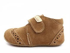 Living Kitzbühel slippers chestnut suede with wool lining