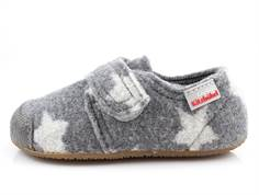 Living Kitzbühel slippers gray with stars