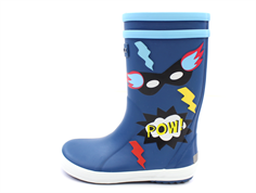 Aigle Lolly Pop rubber boot superheroes