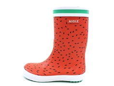 Aigle Lolly Pop fun rubber boot pasteque