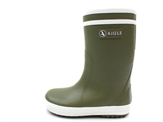 Aigle Lolly Pop Fur winter rubber boot fougere with lining