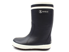Aigle Lolly Pop Fur winter rubber boot marine with lining