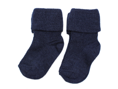 MP socks navy wool/nylon/silk (2-Pack)