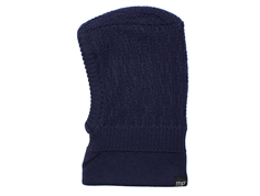 MP Balaclava Uppsala elefanthue dark navy wool