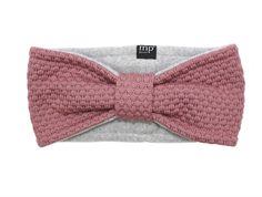 MP Oslo headband rose gray wool