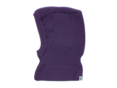 MP balaclava Oslo Windstopper purple wool/cotton