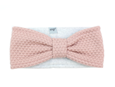 MP Oslo headband rose dust wool/fleece