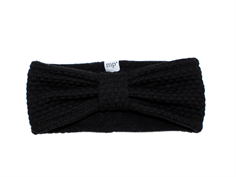 MP Oslo headband black wool/fleece