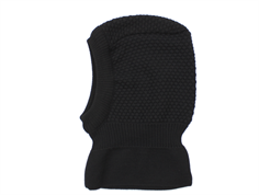 MP balaclava Oslo black wool/cotton